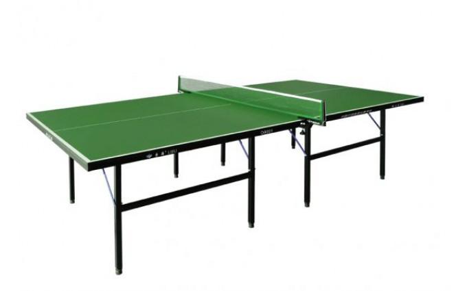 Теннисный стол LIJU, 16 мм, зеленый D9001