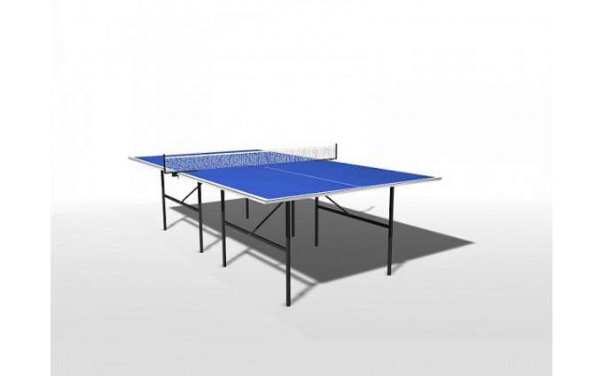 Всепогодный теннисный стол Воевода компакт с сеткой