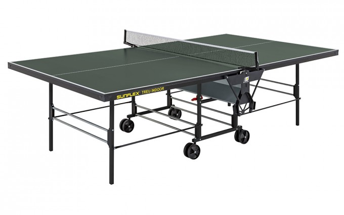 Теннисный стол тренировочный Sunflex True Indoor Зеленый