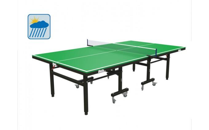 Всепогодный теннисный стол UNIX line зеленый